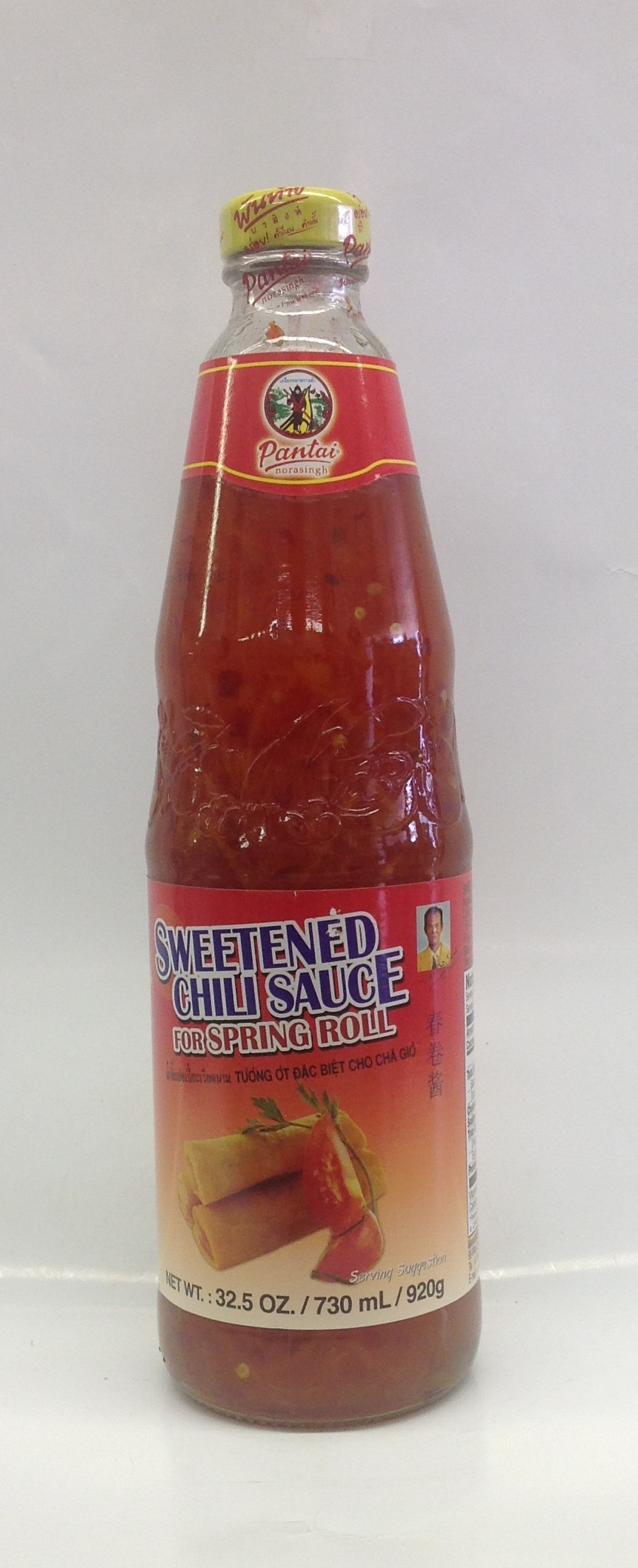 Sweetened Chili Sauce for Spring Roll   Pantai   SC15110 12x32 oz