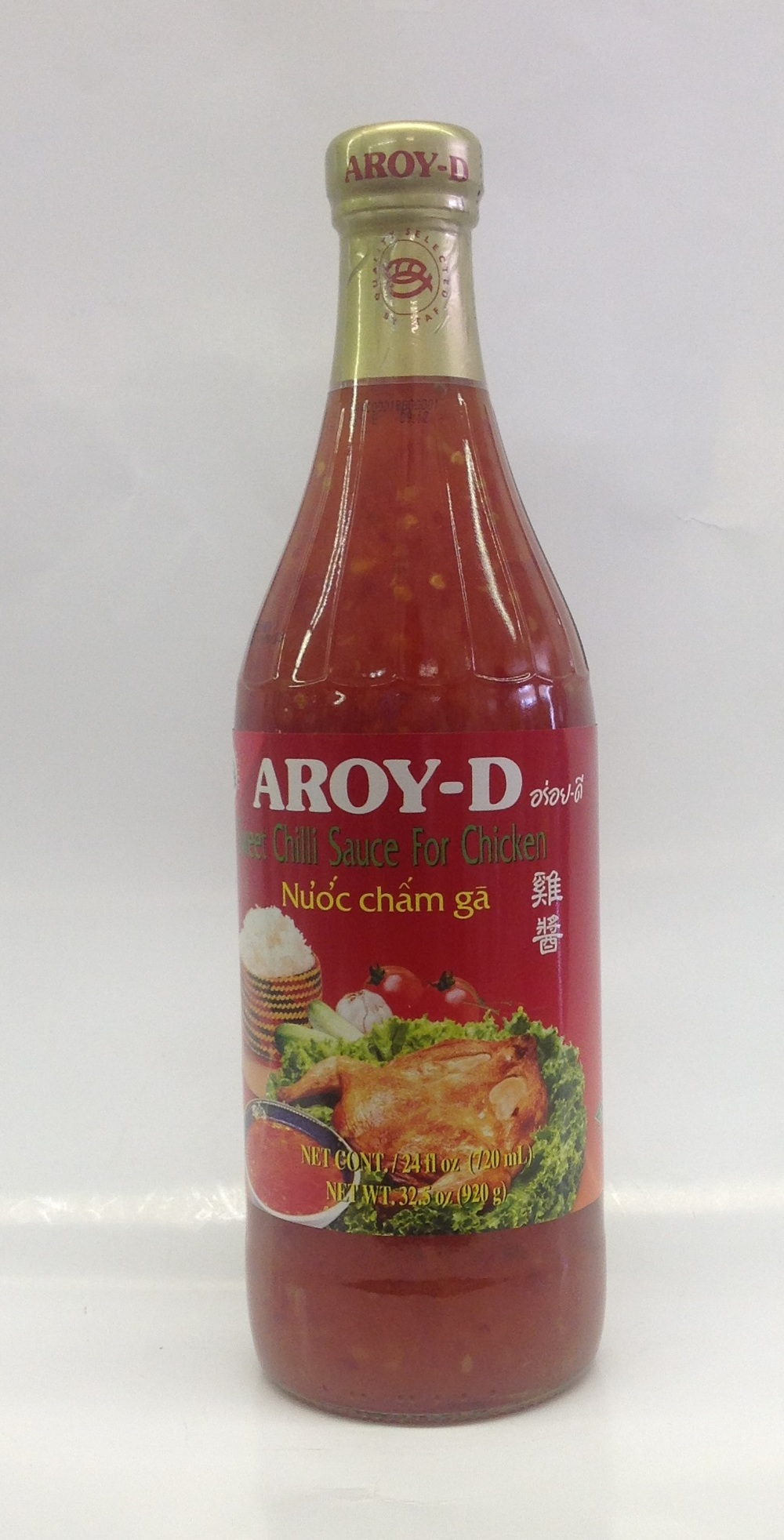 Sweet Chili Sauce for Chicken   Aroy-D   SC11300 12x24 oz