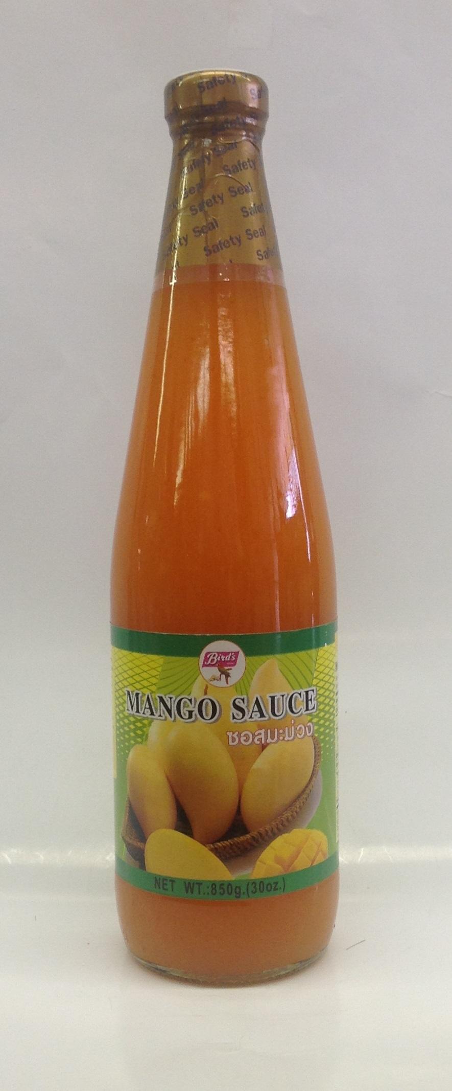 Mango Sauce   Bird's   SA14200 12x30 oz