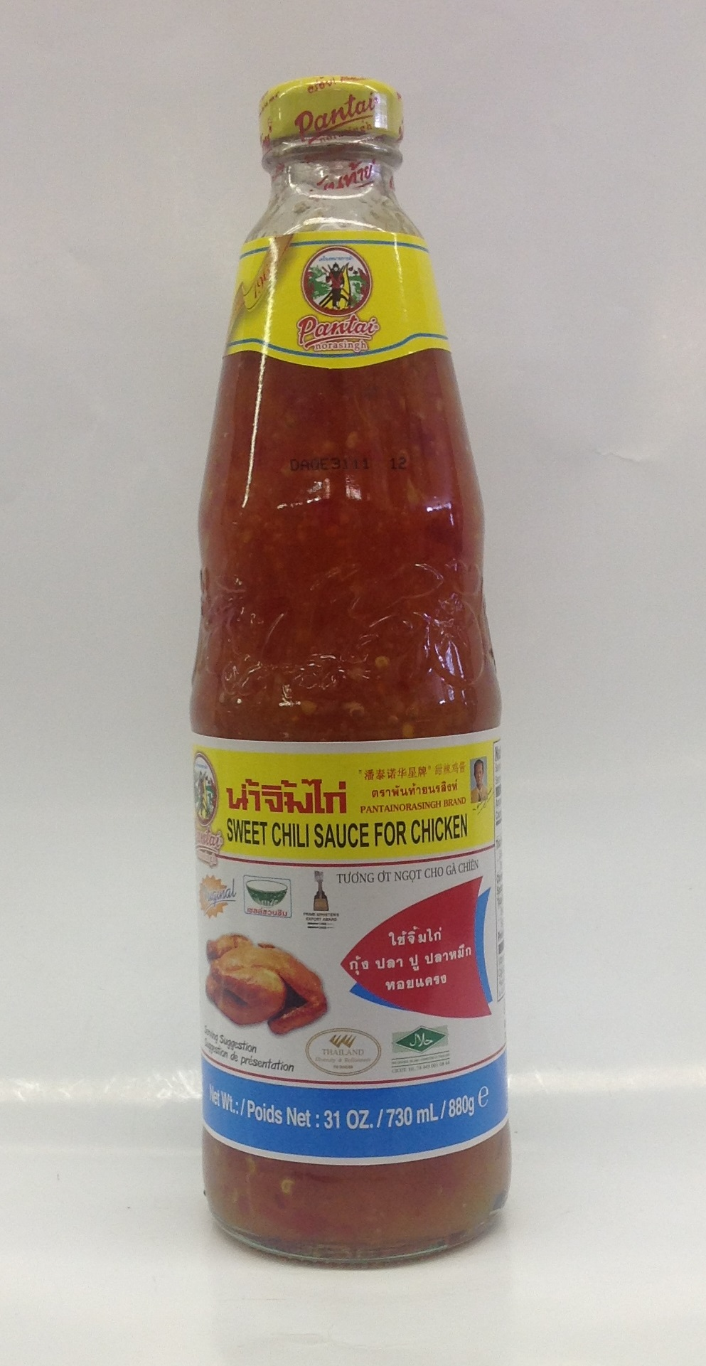 Sweet Chili Sauce for Chicken   Pantai   SC15103 12x27 oz