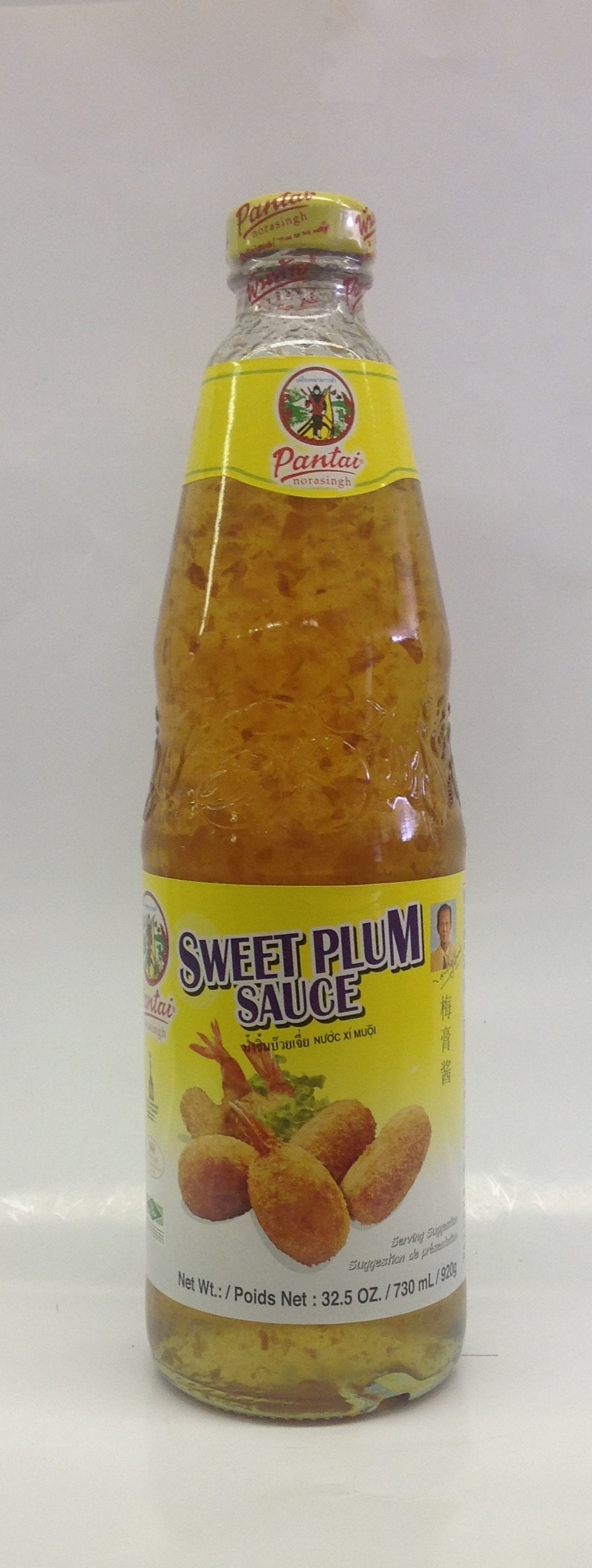 Sweet Plum Sauce   Pantai   SA17061 12x32 oz