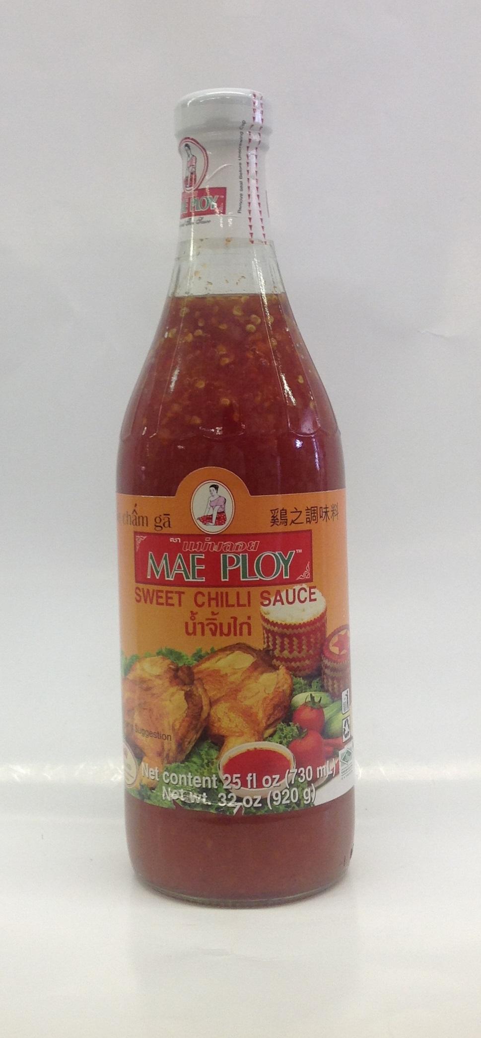 Sweet Chili Sauce   Mae Ploy   SC15100 12x32 oz