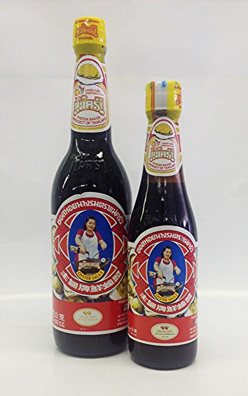 Oyster Sauce   Mae Krua   SA15313 12x10 oz  SA15314 12x24 oz