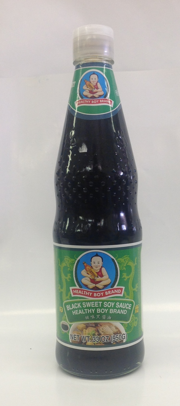 Black Sweet Soy Sauce   Healthy Boy   SA11242 12x23 oz