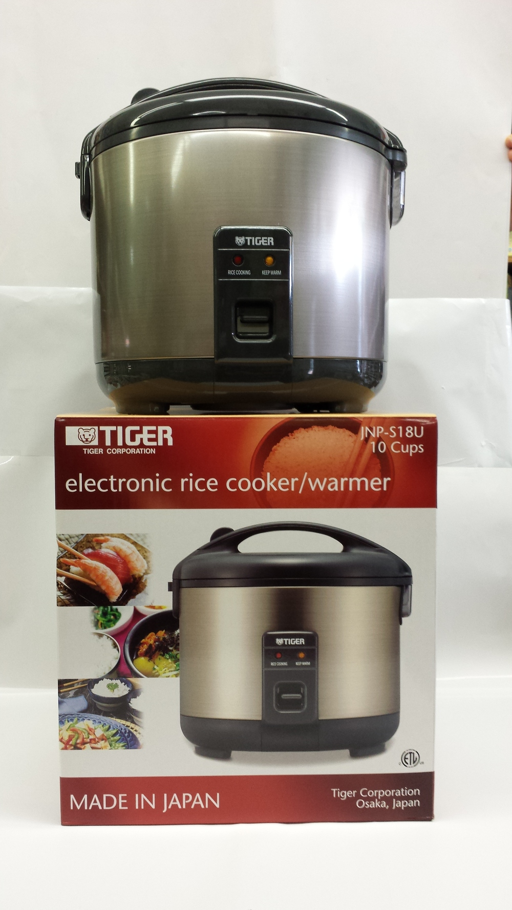 Rice Cooker   Tiger   RC28110 4x10 cups  RC28104 4x3 cups  RC28105 4x5.5 cups