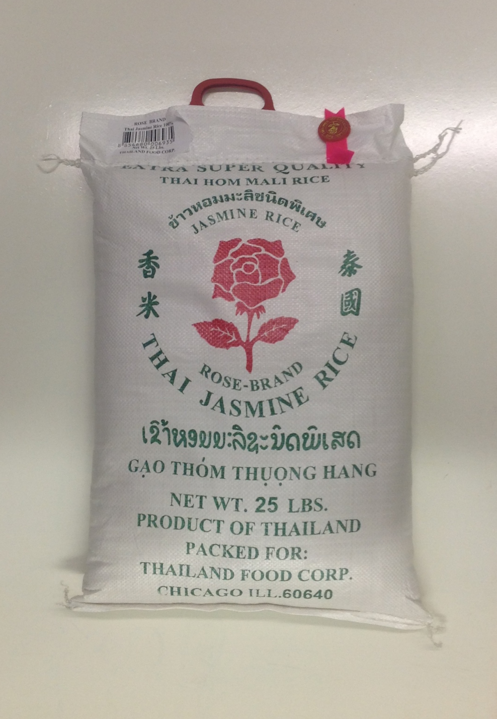 Thai Jasmine Rice   Rose   JR11602 25 lbs  JR11603 50 lbs