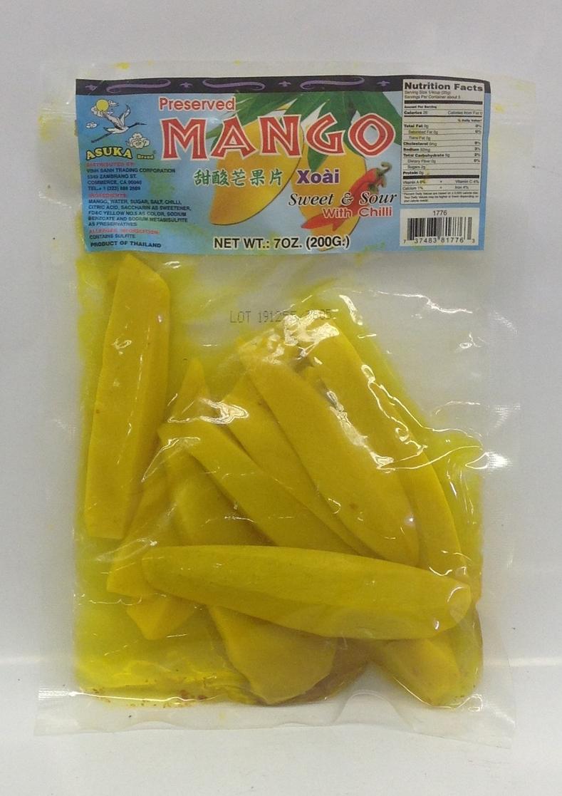 Chili Sweet Mango   Asuka   PS15106 60x7 oz