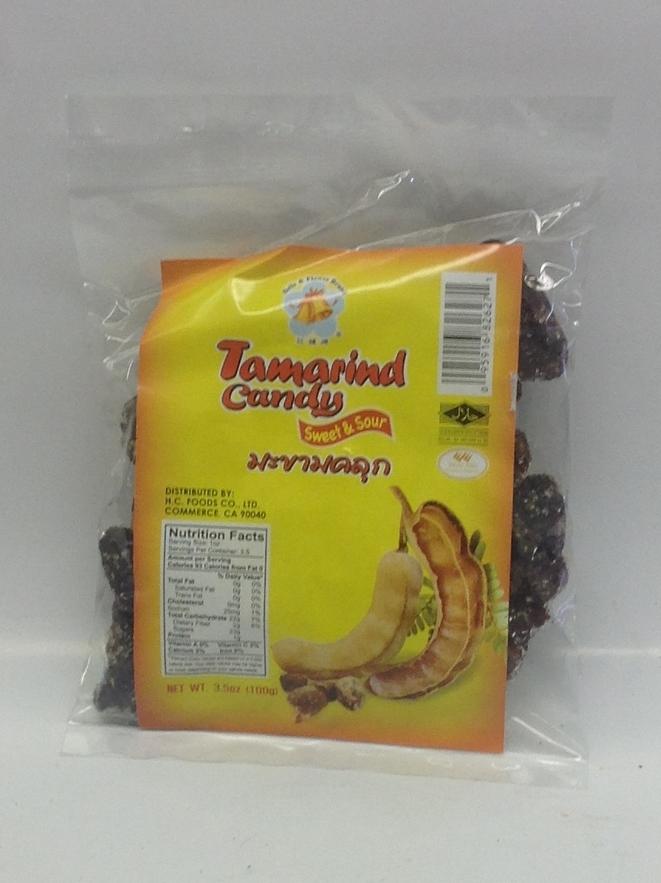 Tamarind Candy, Sweet & Sour   B&F   CN17206 100x3.5 oz