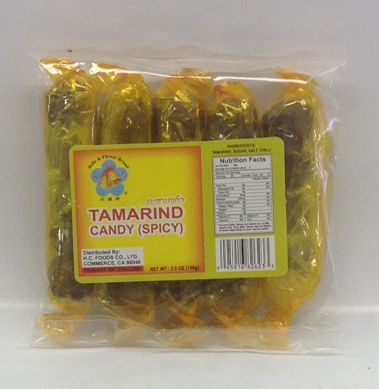 Tamarind Candy, Spicy   B&F   CN17205 100x3.5 oz