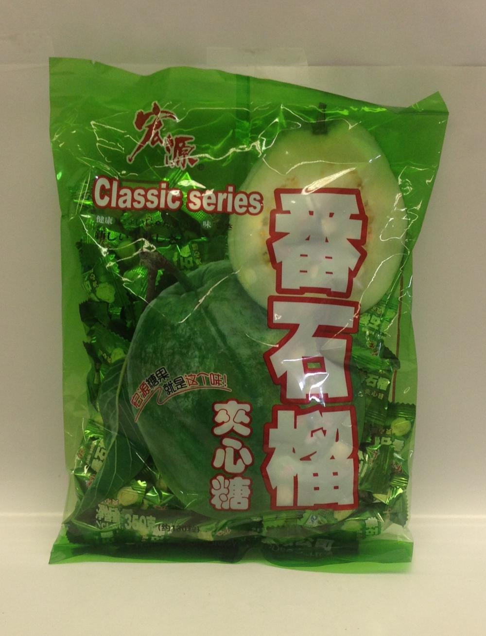 Guava Candy   China   CN13110 24x13 oz  CN13112 30x350 g (Bag)