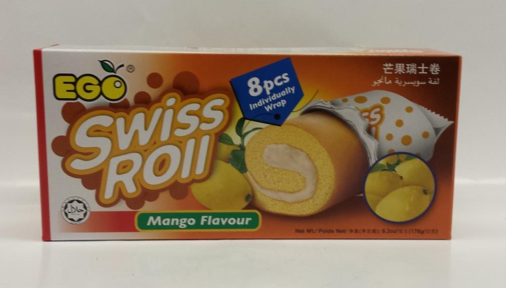 Swiss Roll, Vanilla   Ego   CK17215 24x6.2 oz