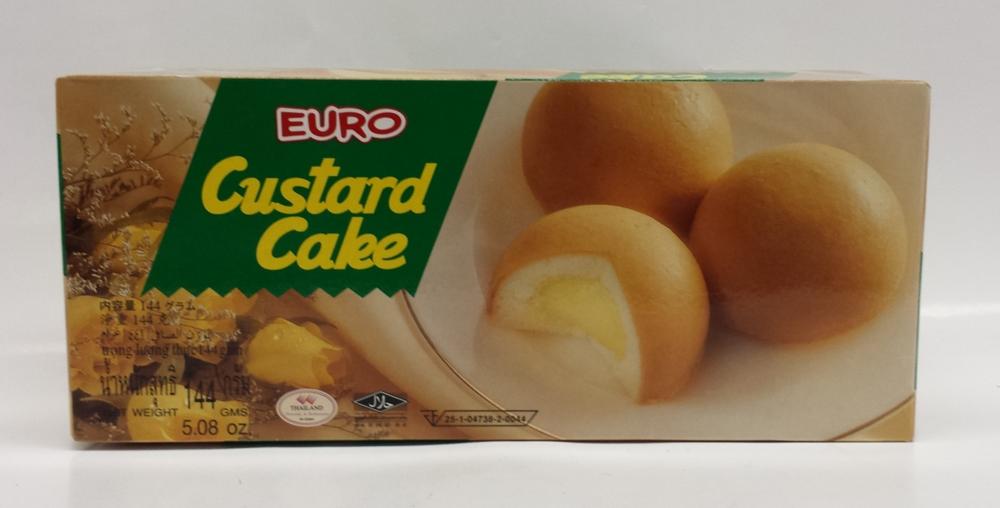 Custard Cake   Euro   CK16372 12x6 pieces