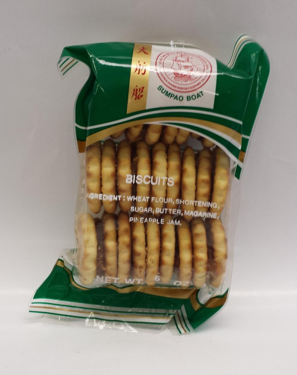 Pineapple Biscuit, Medium   Sumpao Boat   CK16330 36x6 oz