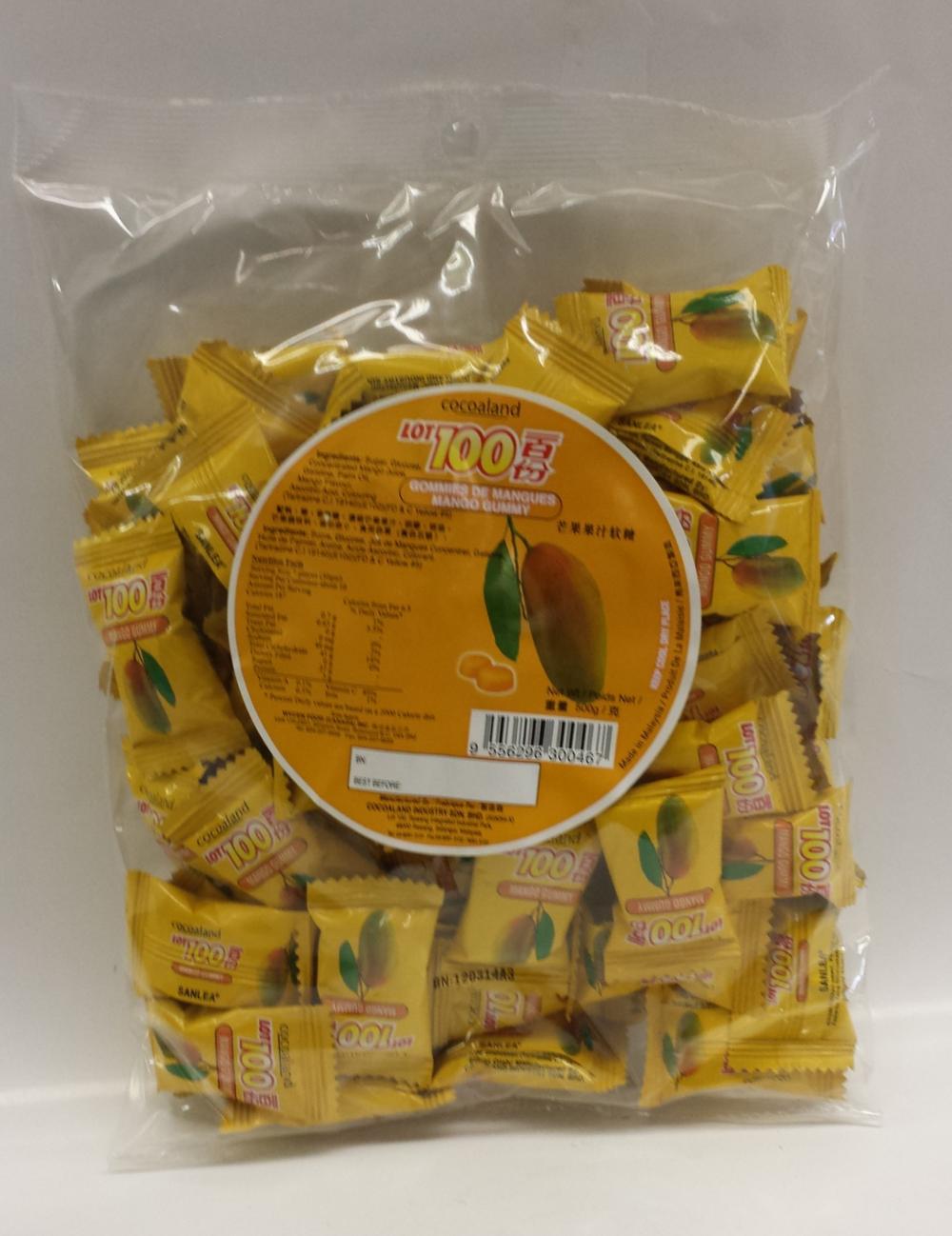 Jelly, Mango   Lot 100   CN13204 24x500 g