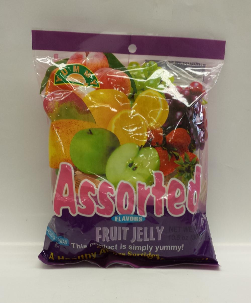 Assorted Square Jelly   Yummy   CJ11208 30x300 g