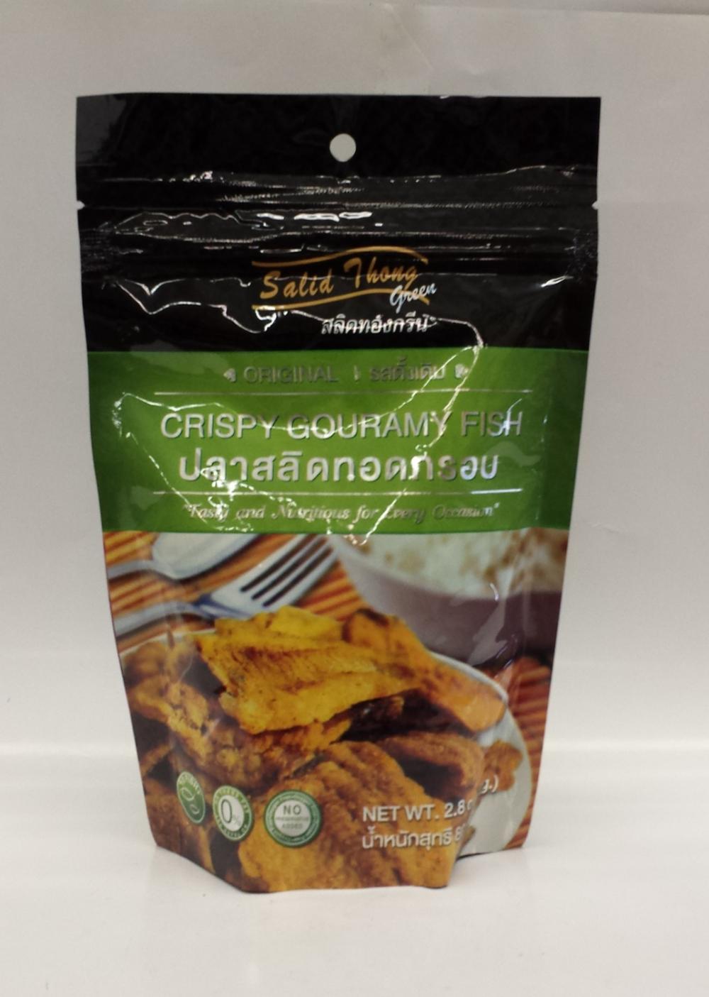 Crispy Salid Thong   Thai   FZF7109 20x2.8 oz (Original)  FZF7107 20x2.8 oz (Tom Yum)