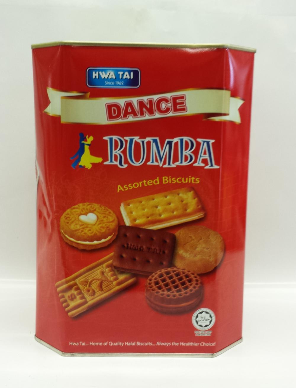 Assorted Biscuits, Rumba   Hwa Tai   CK11108 6x650 g