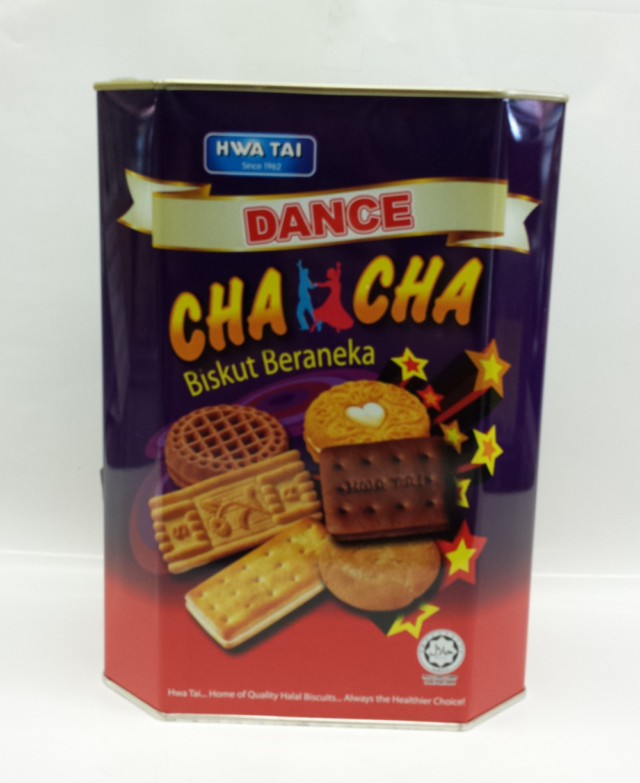 Assorted Biscuits, Cha Cha   Hwa Tai   CK11101 6x650 g