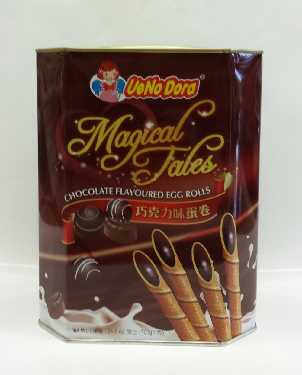 Magical Tales Egg Roll, Chocolate   UeNoDora   CK12206 6x700 g