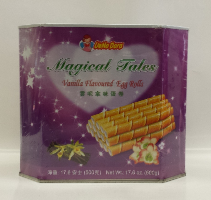 Magical Tales Egg Roll, Vanilla   UeNoDora   CK12210 12x500 g