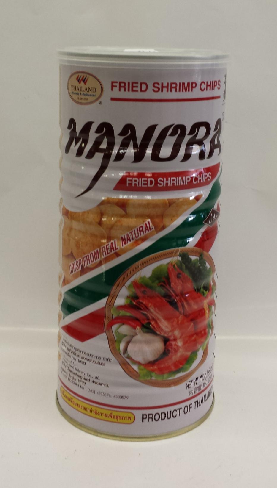 Shrimp Chip   Manora   SHM2015 12x3.8 oz