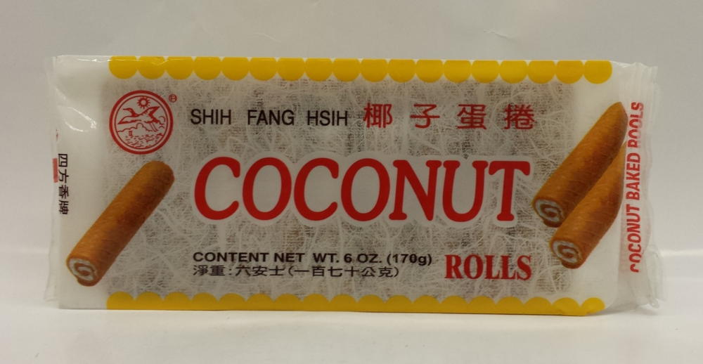 Coconut Rolls   Shine Liy   CK11325 48x6 oz