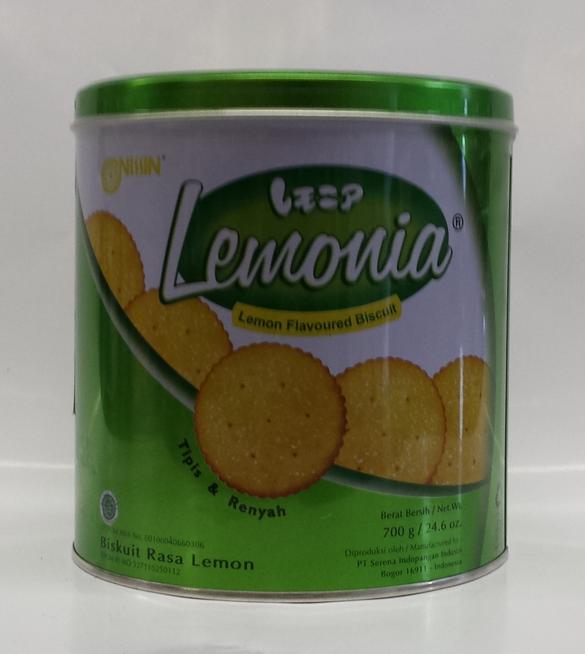 Lemonia Cookies   Nissin   CK12252 6x700 g