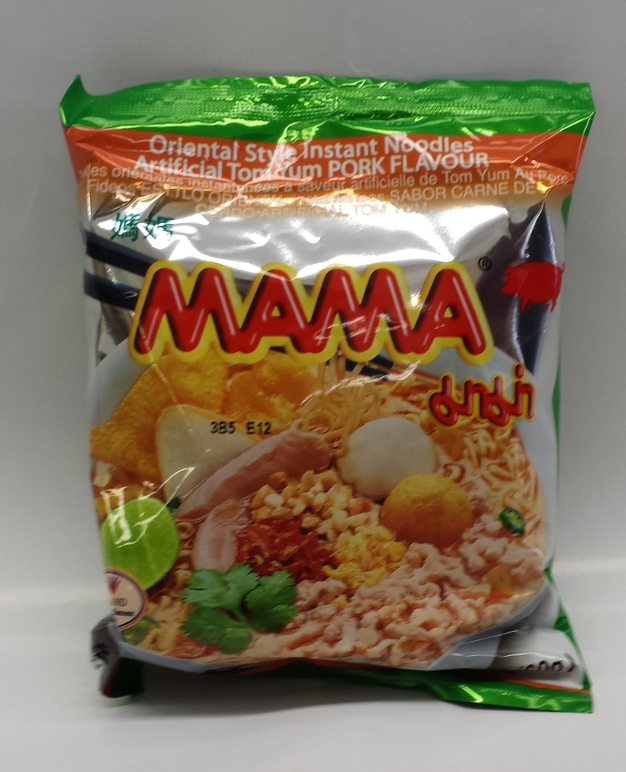 Ma Ma Tom Yum, Pork   Ma Ma   ND21157 6x30x2 oz
