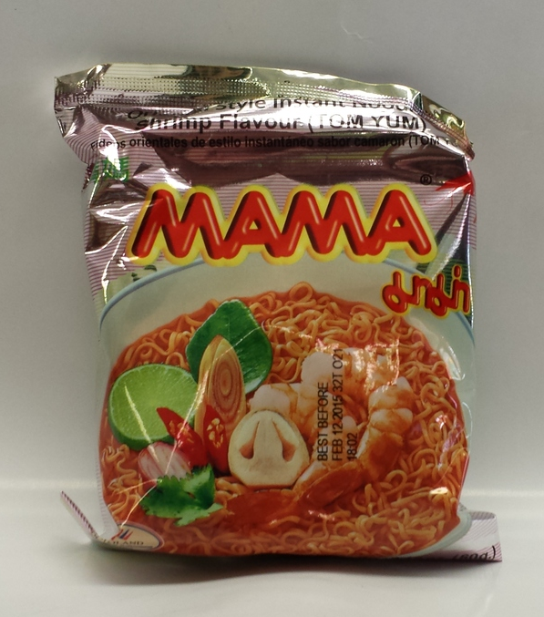 Noodle Shrimp Creamy, Tom Yum   Ma Ma   ND19511 6x30x1.9 oz