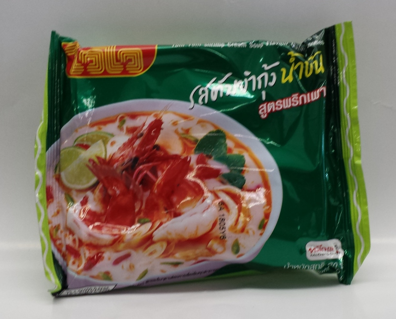Wai Wai Tom Yum Shrimp Cream   Wai Wai   NDW0006 6x30x1.9 oz