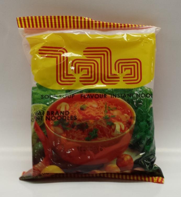 Instant Noodles Sour Soup Flavor   Wai Wai   NDW0010 6x30x2.1 oz