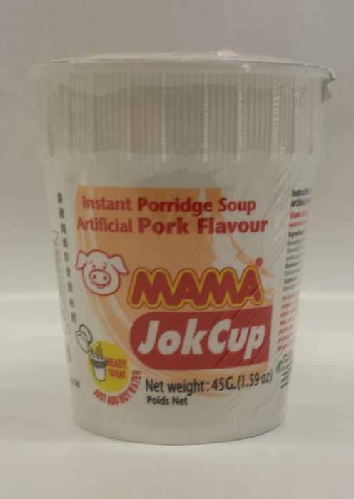 Instant Rice Porridge, Pork   Ma Ma   JK10052 12x2.1 oz