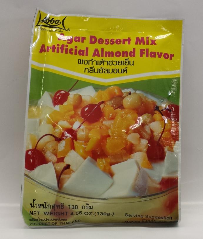 Agar Dessert Mix, Almond   Lobo   SEL1024 150x4.55 oz