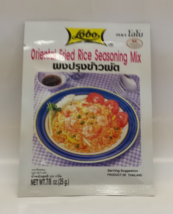 Oriental Fried Rice Seasoning Mix   Lobo   SEL6001 48x1.06 oz