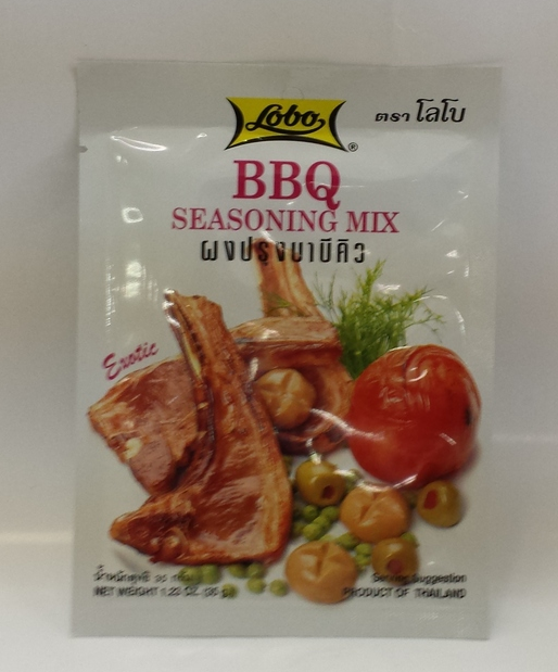 BBQ Seasoning Mix   Lobo   SEL1095 48x35 g