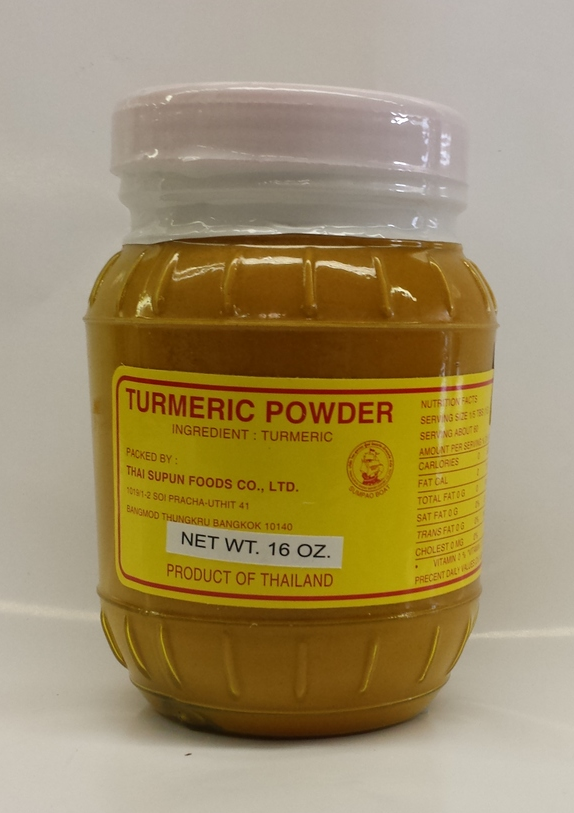 Turmeric Powder   Sumpao Boat   PD17203 12x16 oz