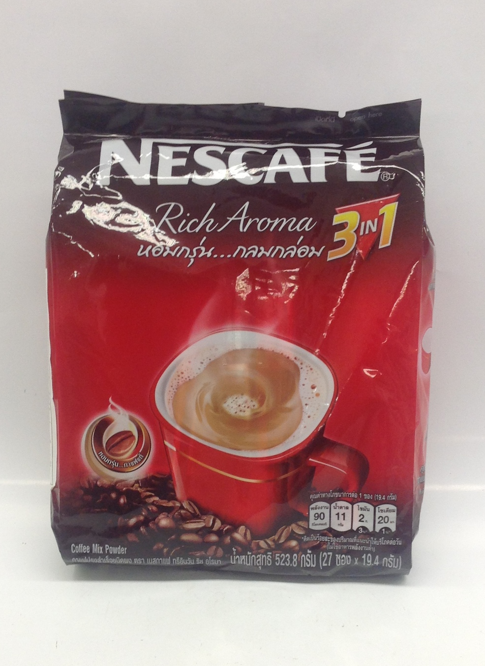 Instant Coffee Mix 3 in 1   Nestle   DKT1352 24x30x20 g