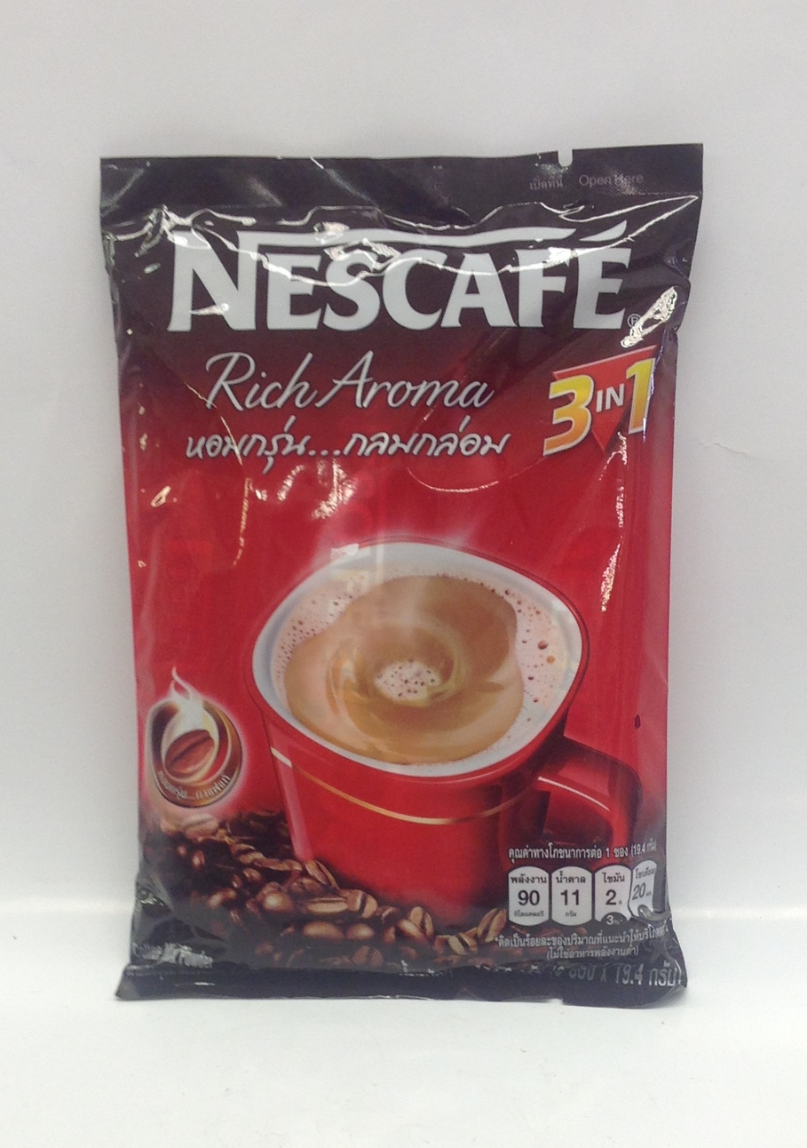 Instant Coffee Mix 3 in 1   Nestle   DKT1353 36x9x19 g