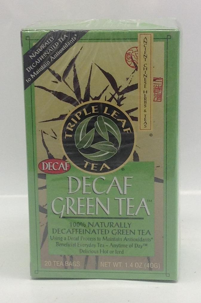 Dieters' Decaf. Green Tea   Triple Leaves   DKT1181 24x20 bags