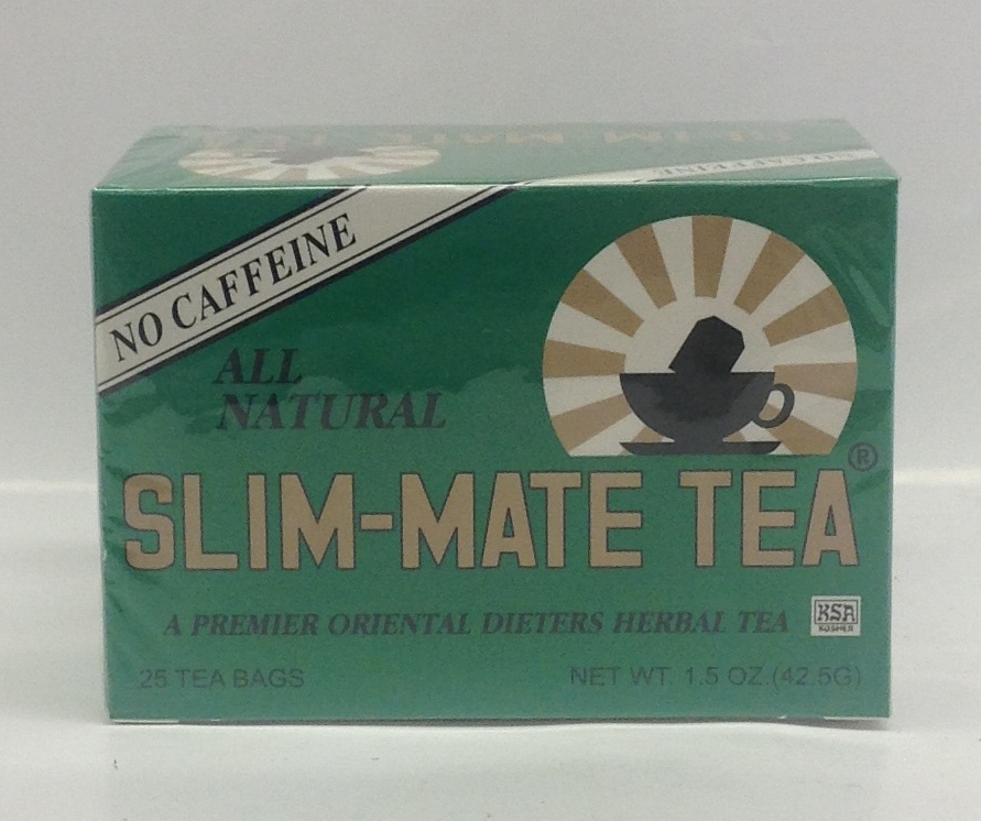 Slim Mate tea   U.S.A.   DKT1215 6x25 bags