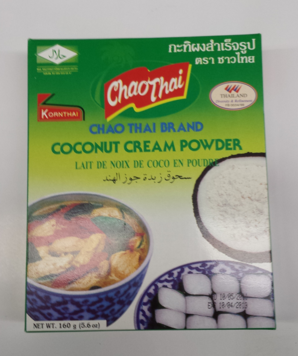 Coconut Cream Powder    Chao Thai   CM11971 24x5.6 oz
