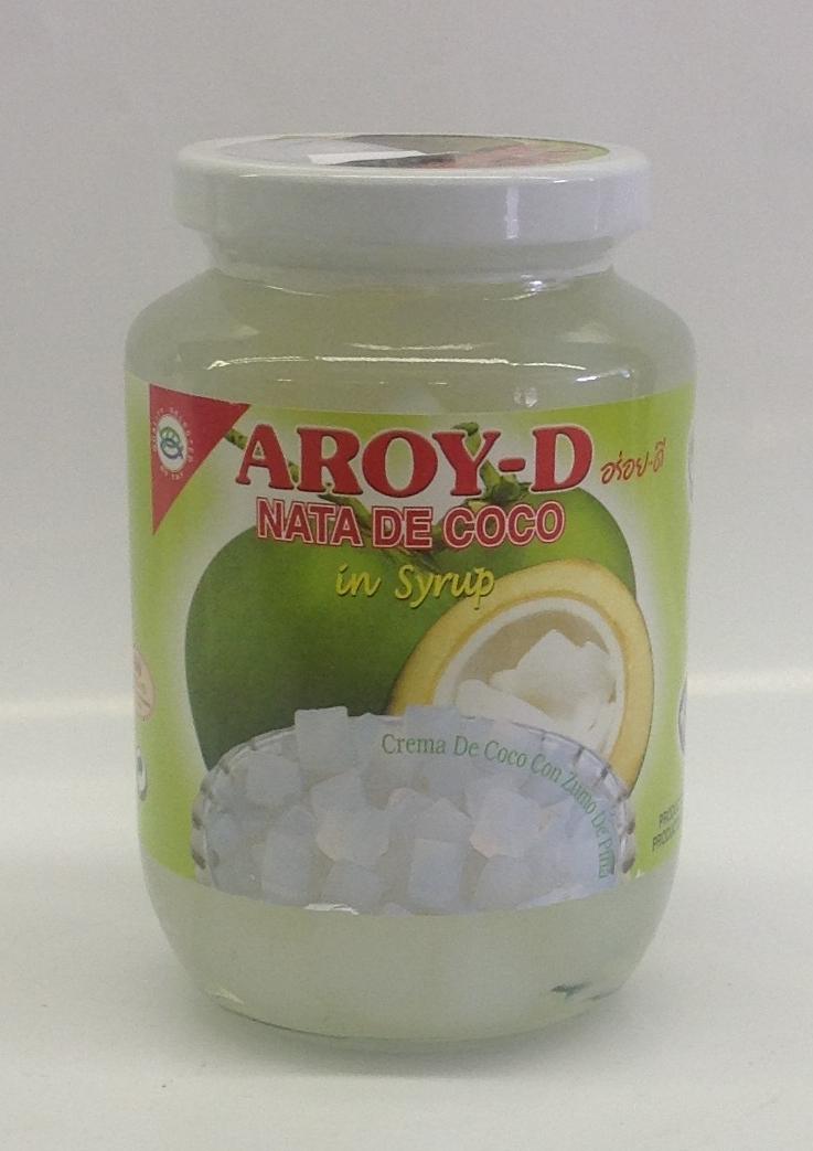 Nata De Coco in Syrup    Aroy-D   FC11804 24x16 oz