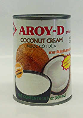 Coconut Cream    Aroy-D   CM11107 24x18.5 oz