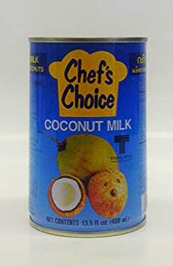 Coconut Milk    Chef's Choice   CM11119 48x5.5 oz  CM11120 24x13.5 oz