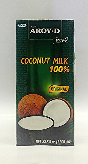 Coconut Milk (UHT)    Aroy-D   CM11106 12x1000 ml  CM11108 36x250 ml