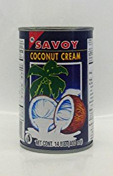 Coconut Cream    Savoy   CM11005 24x13.5 oz  CM11007 24x19 oz