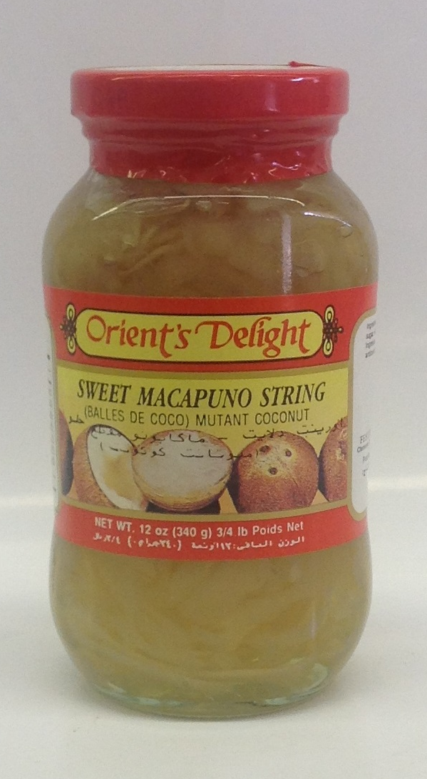 Sweet Macapuno String   O'Delight   PH15101 24x12 oz