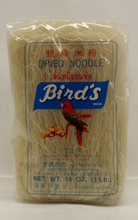 Dried Noodle, Vermicelli   Bird's   RV11202 24x16 oz