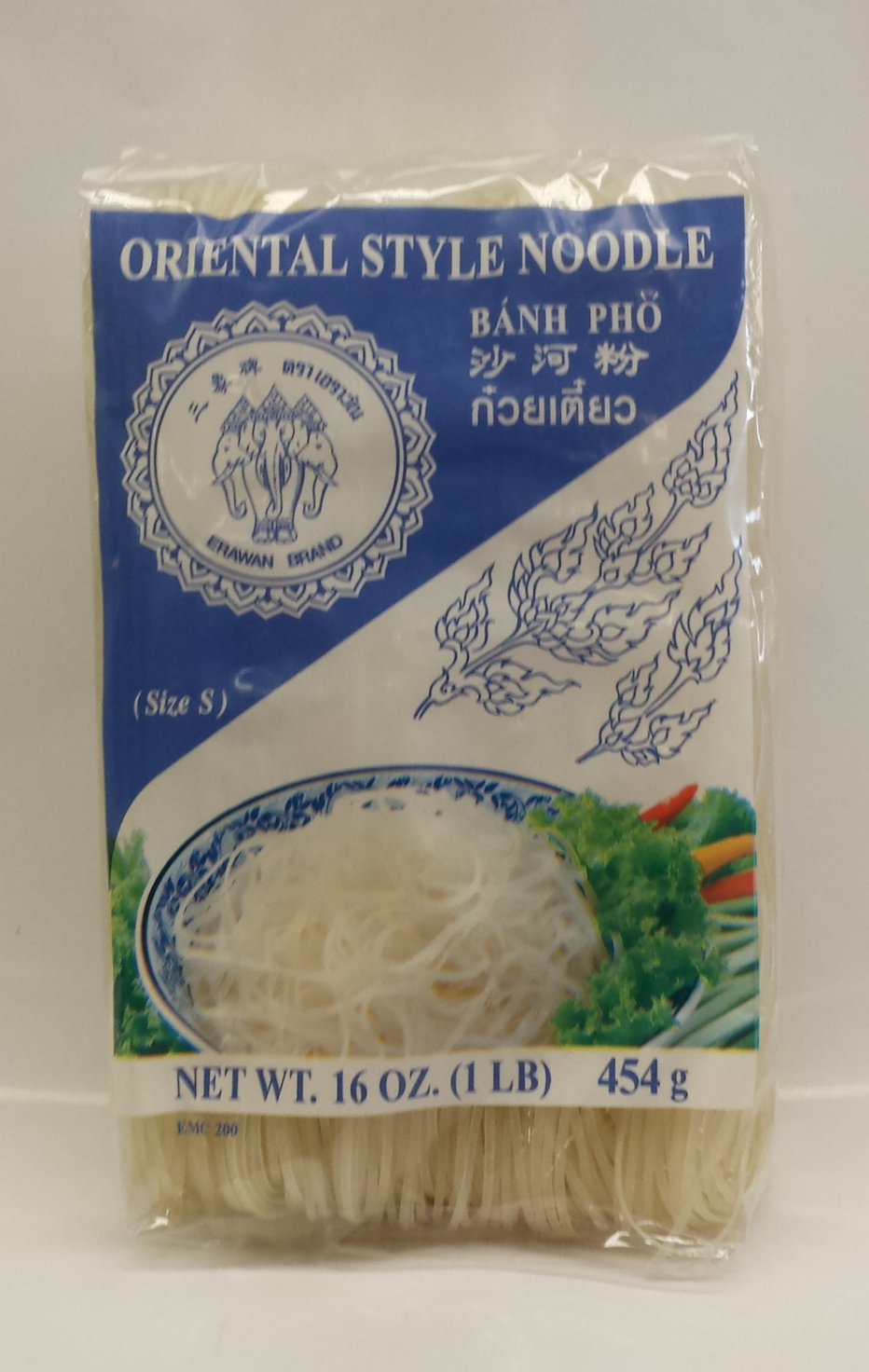 Rice Stick   Erawan   RS12600 30x16 oz (Small)  RS12601 30x16 oz (Med.)  RS12602 30x16 oz (Large)  RS12605 30x16 oz (X-Large)