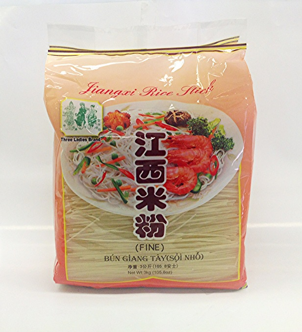 Jiang Xi Rice Stick, Fine   3 Ladies   RV13446 8x3 kg